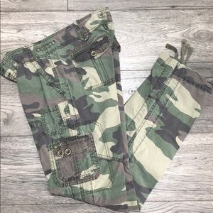 Abercrombie camouflage pants